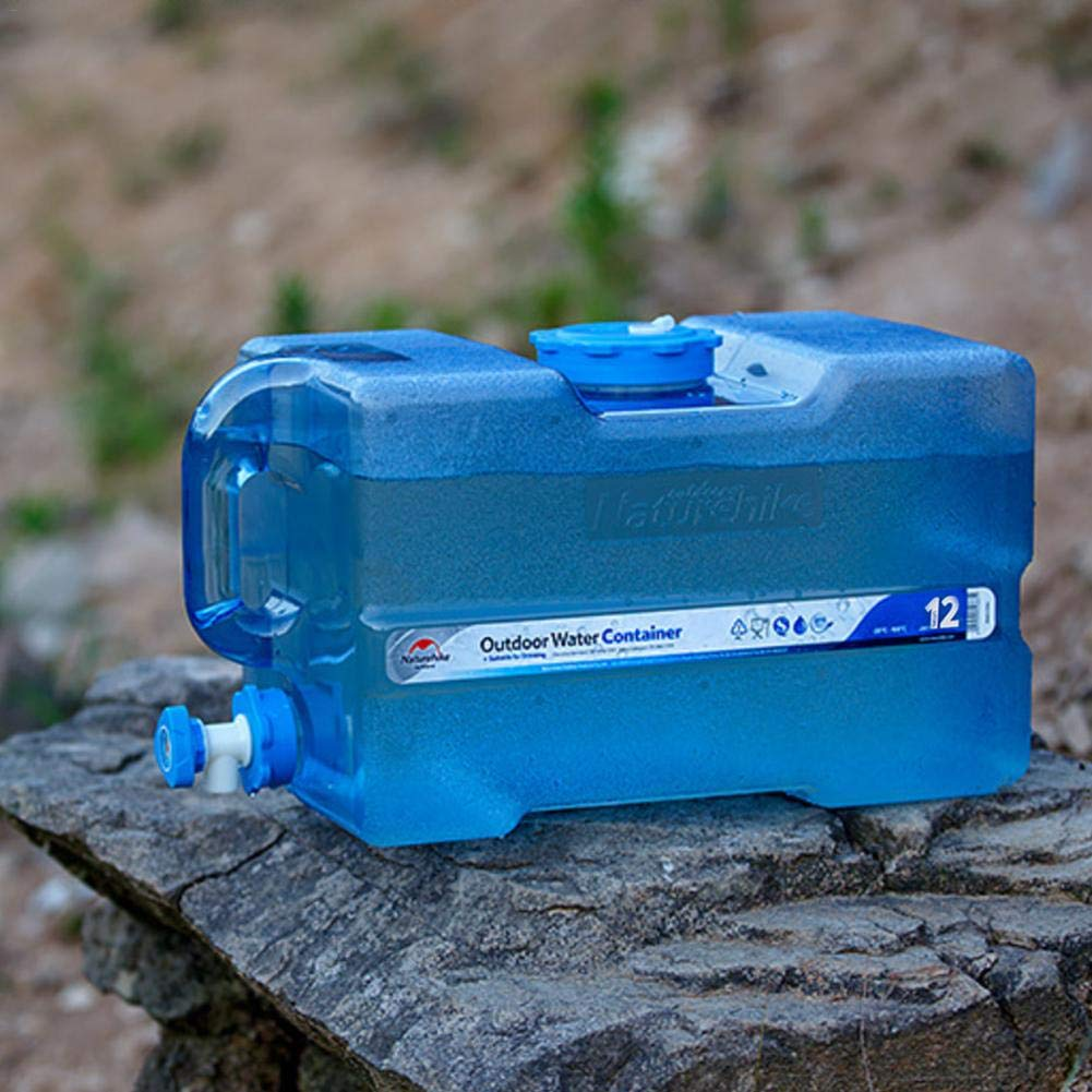 Contenedor de Agua Tanque de Almacenamiento Agua de m/últiples Funciones al Aire Libre Recipiente Agua Libre port/átil se Puede llenar con Agua hirviendo para Almacenamiento al Aire Libre