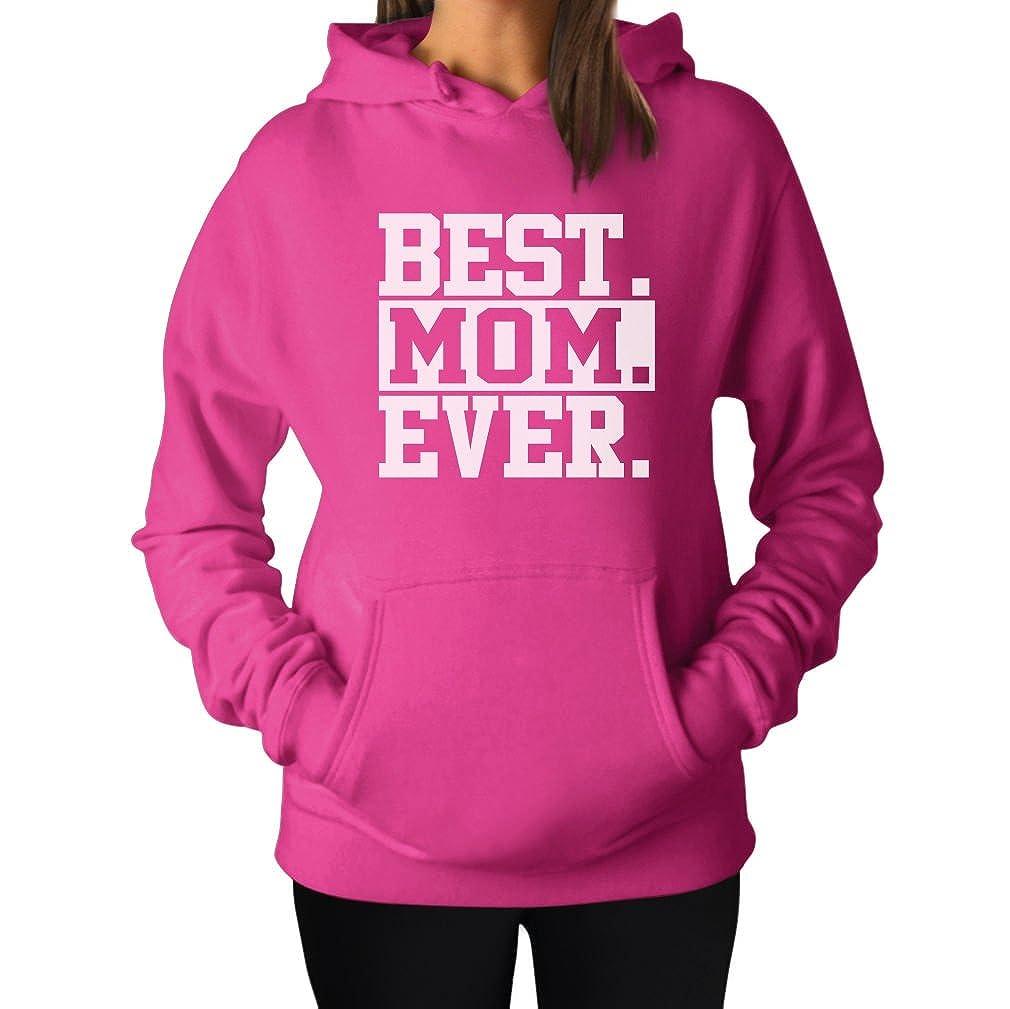 Tstars Best Mom Ever! Great Gift for Mom, Grandma, in-Law or Wife Women's Hoodie GZ3PPgK