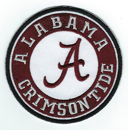 University of Alabama Crimson Tide Round Team Logo Iron-on Jersey Patch