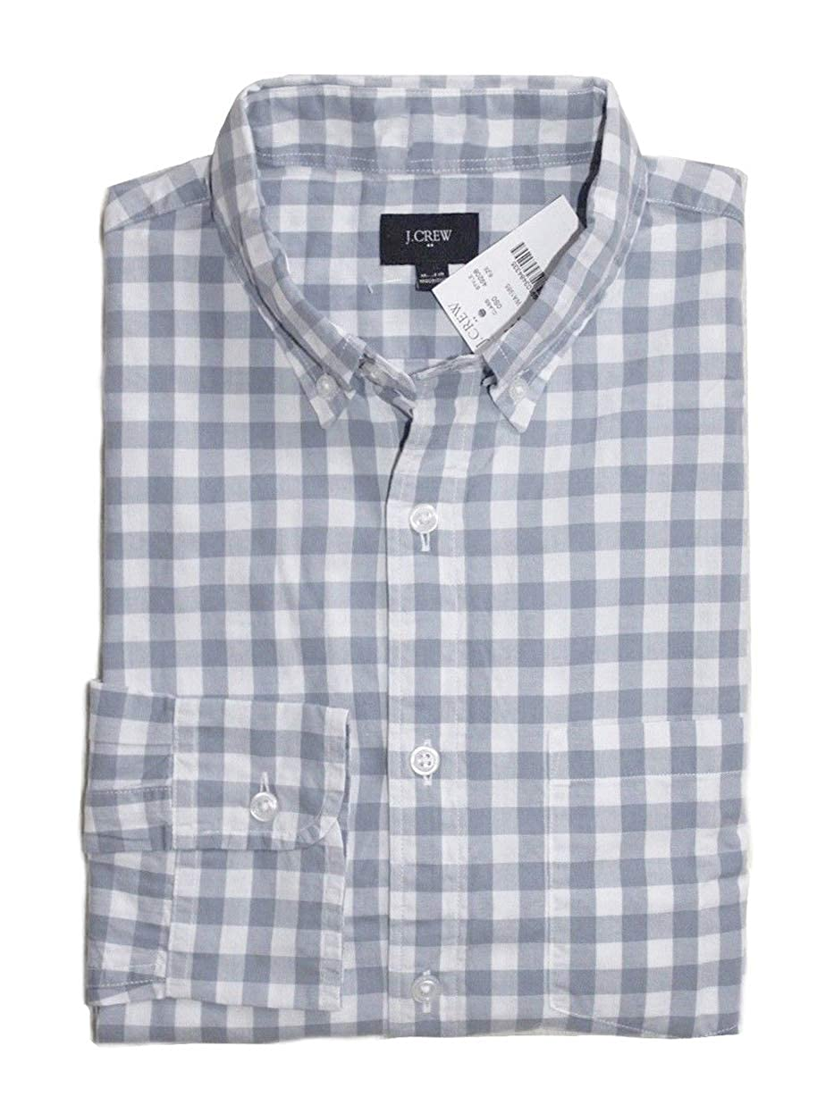 J.Crew Factory Mens Regular Fit Washed Cotton Shirt