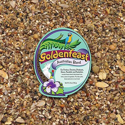 Goldenfeast Australian Blend Parrot Food 32 lb