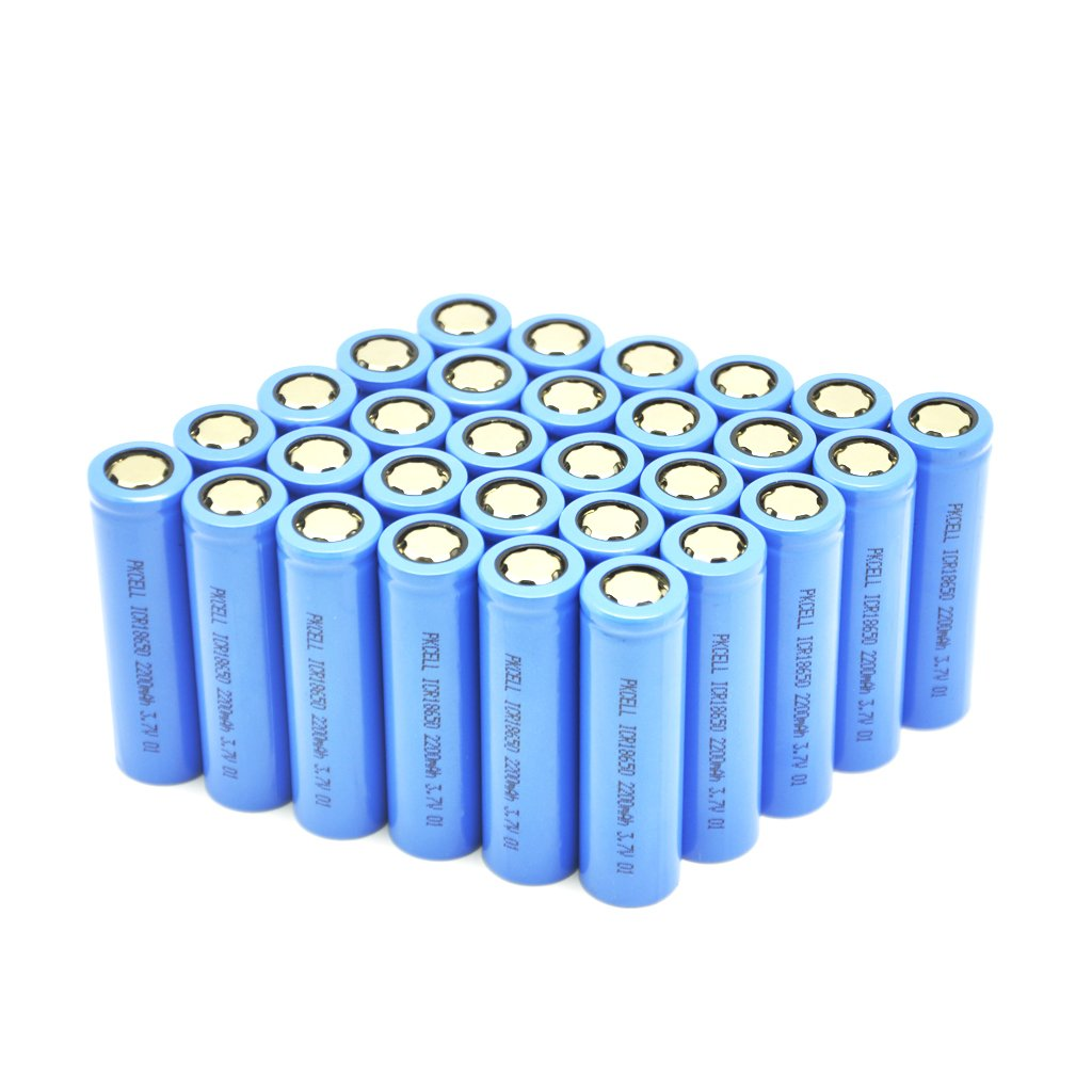 3.7V Batteries Rechargeable lithium ion battery icr18650 (2200mAh*30Pcs)