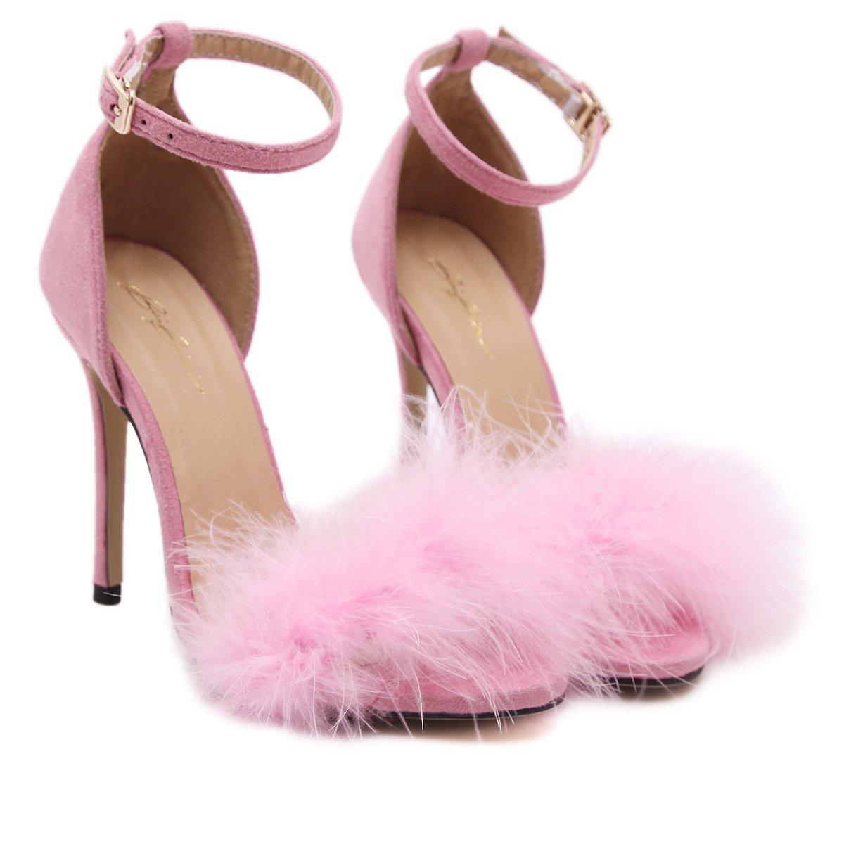 RUGAI-UE Damen Damen Damen High Heel Schuhe Sommer europäischen und amerikanischen Mode Schuhe Zehen High Heels und Damenschuhe. cf9b8d