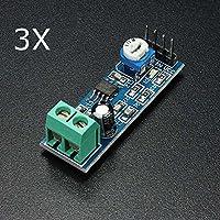 Ils - 3 Piezas de Módulo LM386 Amplificador