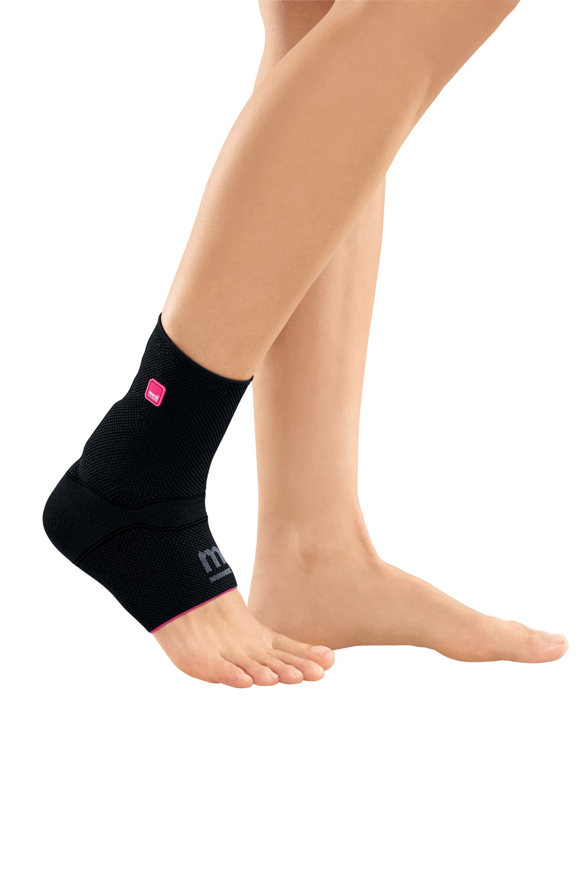 Medi Achimed Knit Ankle Support for Men & Women (Black) Size IV