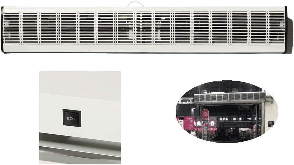 Air Curtain Tipo de botón Cortina de Aire Canal Pasillo Equipo de ventilación supermercado Metro Cortina de Aire Universal 900 mm, 1000 mm, 1200 mm: Amazon.es: Hogar