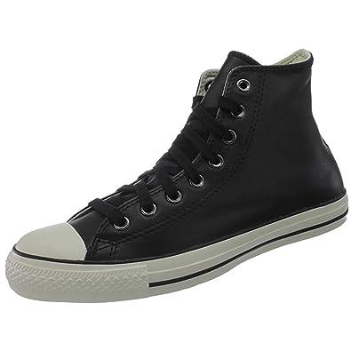 Converse Hi Star 1v332 Leather Noir CouleurCreme All E9YDIHW2