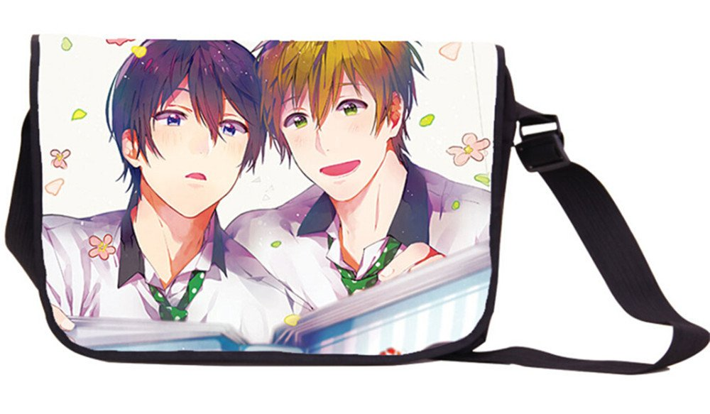 Siawasey Anime Free! Eternal Summer Iwatobi Swim Club Messenger Bag Backpack Shoulder Bag