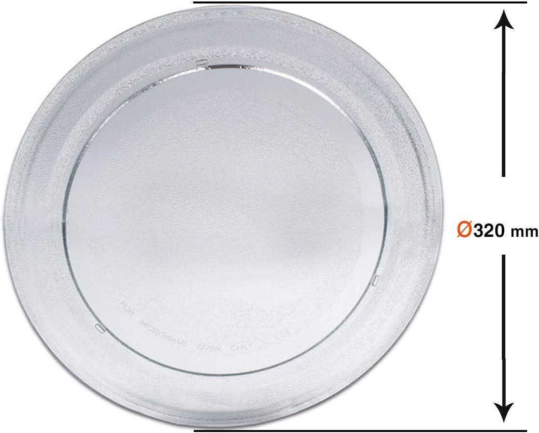 Plato microondas Whirlpool LG 32cm Canal 225 AVM335WH AVM350 481946678186