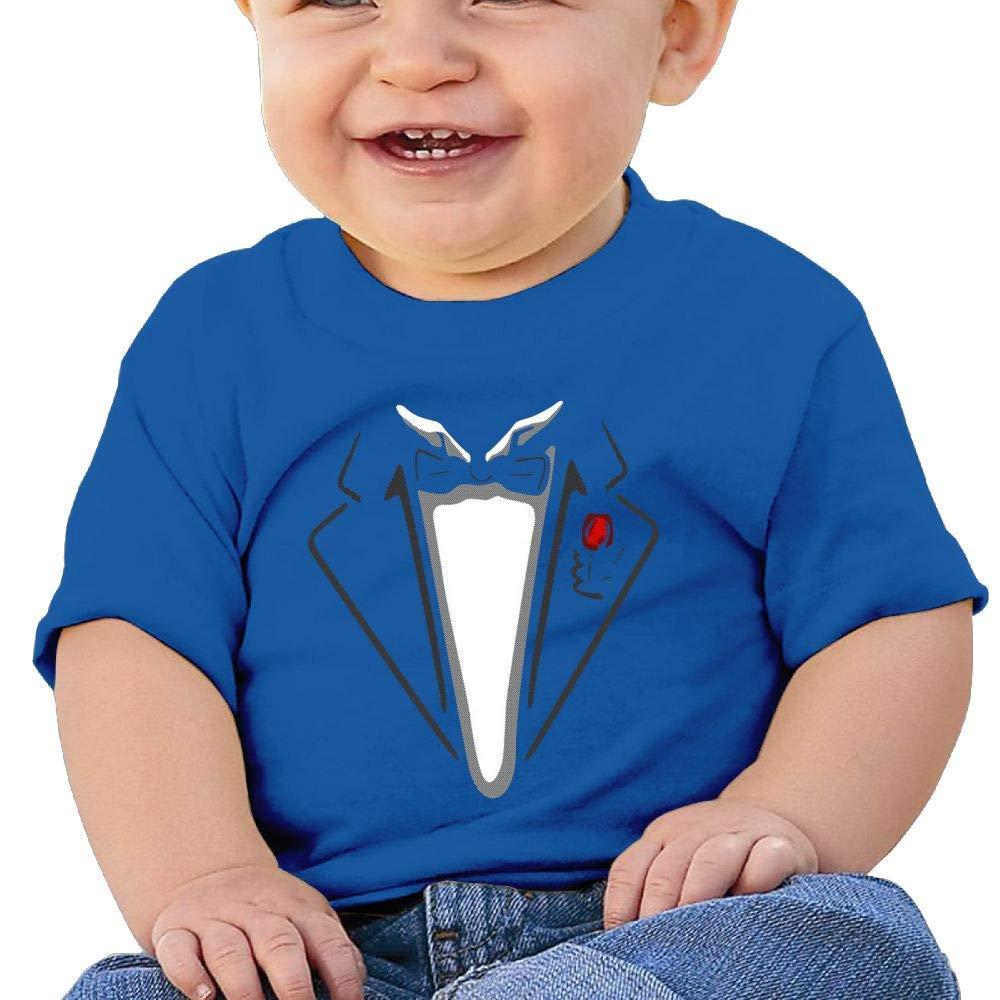 YXQMY Washed Cotton Baby Boy Girls Shirt Godfather Clothes Cute Summer T Shirt Funny