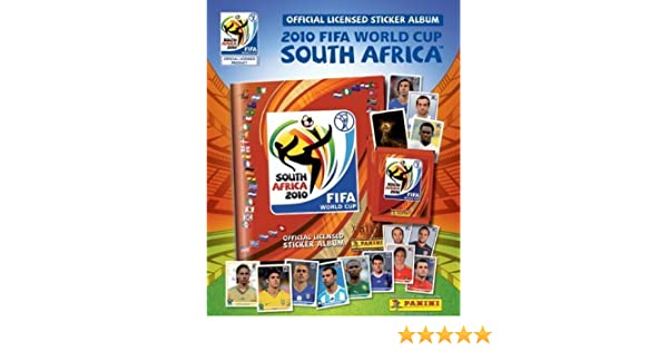 fc6a5c70f Amazon.com: Panini Fifa World CUP Africa 2010 Complete Collection 640  Stickers NEW: Toys & Games