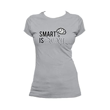 d049c9eb I Love Science Women's Smart Is Sexy T-Shirt at Amazon Women's Clothing  store: