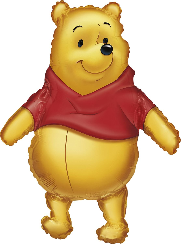 Anagram International 833501 Big As Life Pooh Shape Balloon Pack, 29' 29