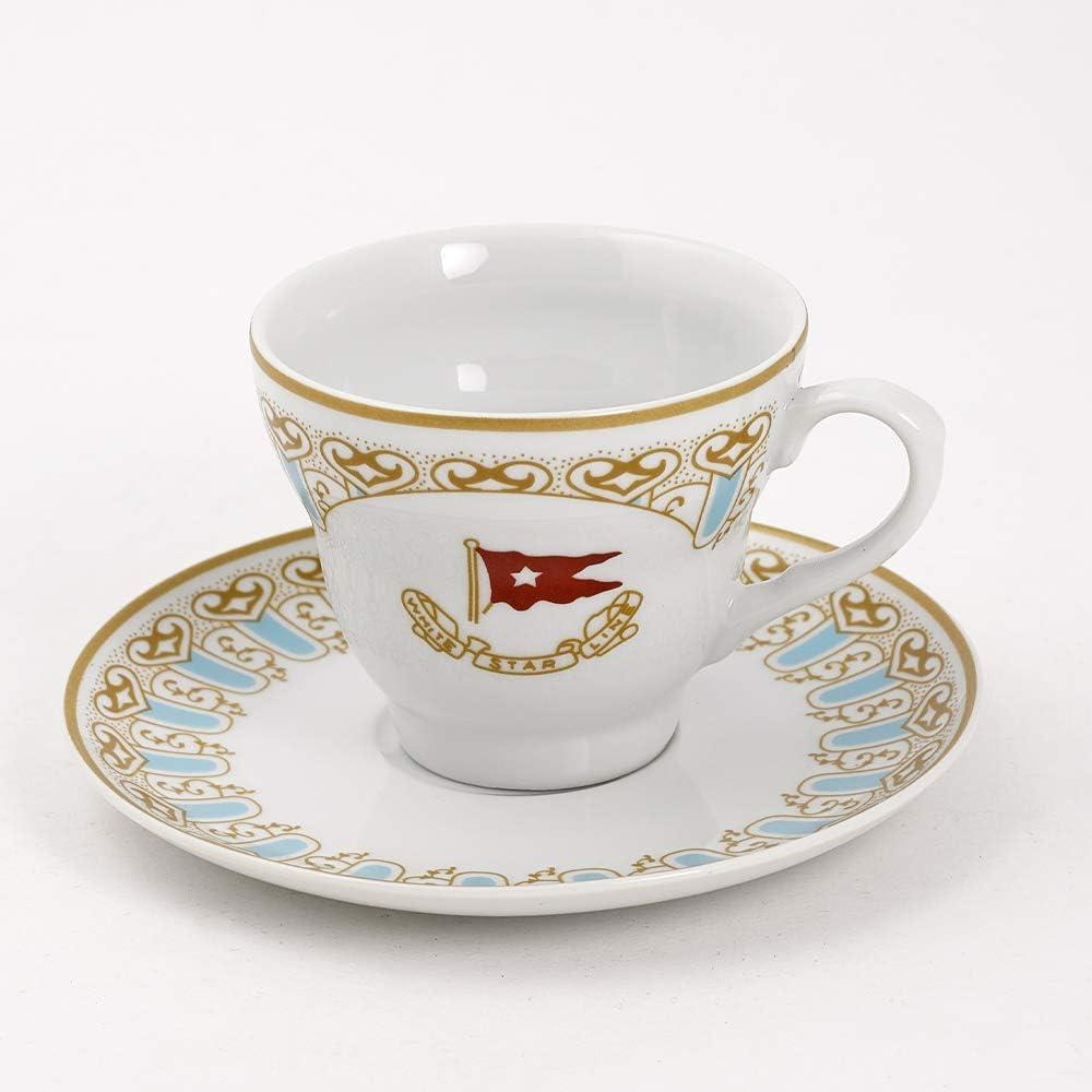Replica RMS Titanic Wisteria Cup and Saucer Set