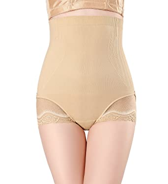 98c5a3f4200 AIMILIA Women s Shapewear High Waist Shaper Tummy Control Underwear  Slimming Panties Nude