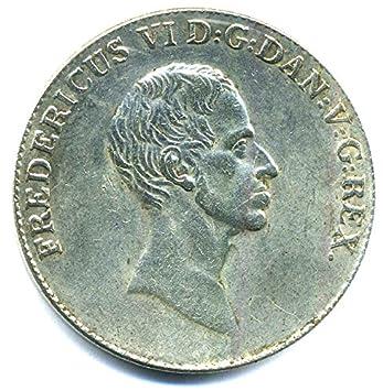 Baumarkt Dänemark münze 1828 f dänemark 1 speciedaler frederik vi 1808 1839
