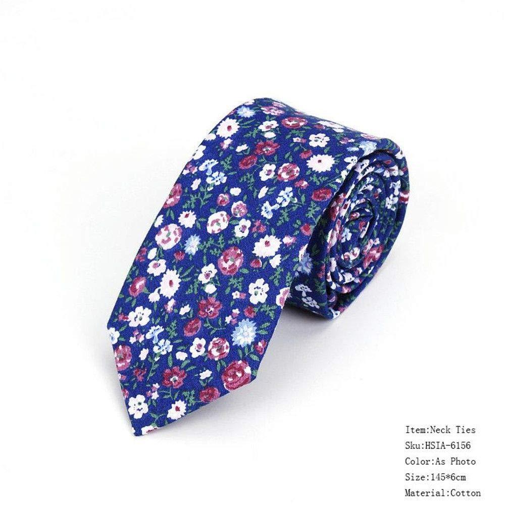 XJIUER corbata Corbatas Florales para Hombre para Hombre Corbata ...