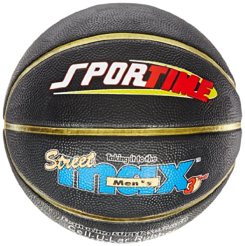 Sportime Junior StreetMax Basketball, 27-1/2 Inches, Black ()