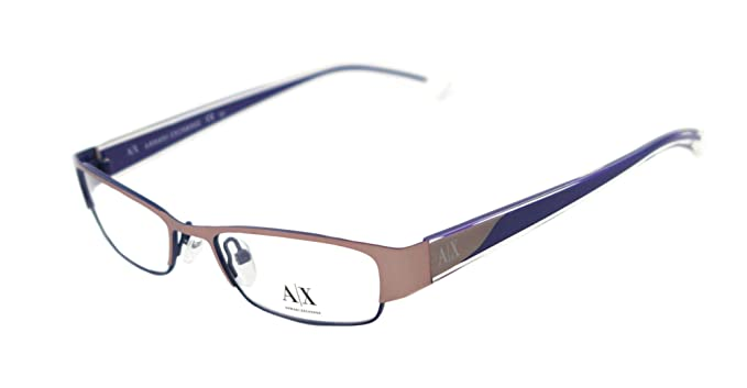 8c1bce113e9d Amazon.com  Armani Exchange AX227 Eyeglasses - 0Y86 Matte Rose - 50mm   Clothing