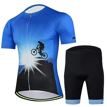 Ropa Conjunto Traje Equipacion MTB Ciclismo Hombre Verano ...