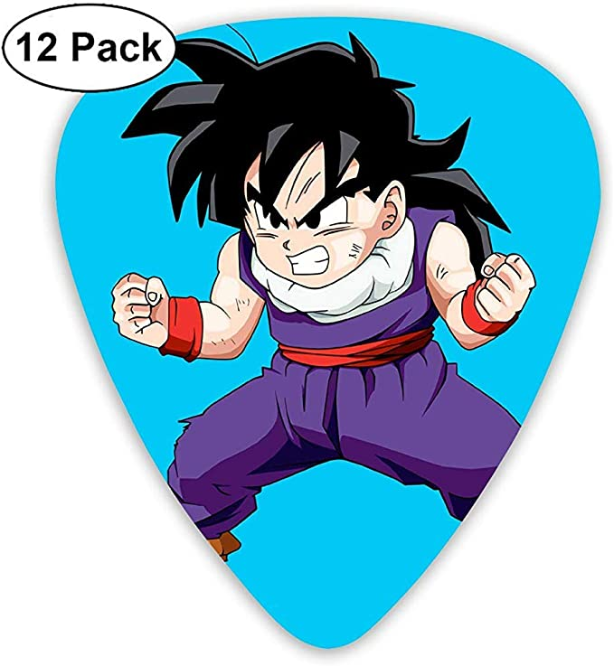 Dragon Ball Young Goku Guitar Picks Custom Fashion 12 Pack Picks ...