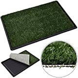 Giantex 30''x20'' Puppy Pet Potty Training Pee Indoor Toilet Dog Grass Pad Mat Turf Patch
