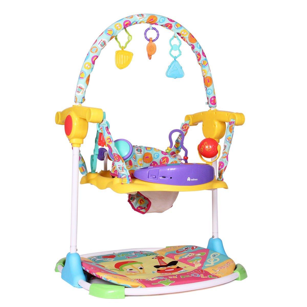 Natineo Baby Jumper Hip N Hop - Saltador para bebé, multicolor ...