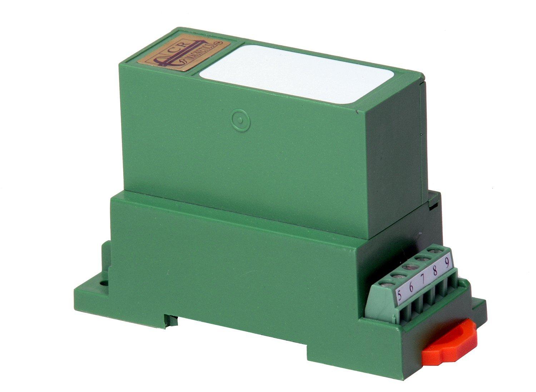 CR Magnetics CR4811-500 Average RMS AC Voltage Transducer with Single Element, 20 Hz - 5 KHz, >=2K  Output Load, 24 VDC +/-10%, 0 - 500 VAC Input Range, 0 - 10 VDC Output Range