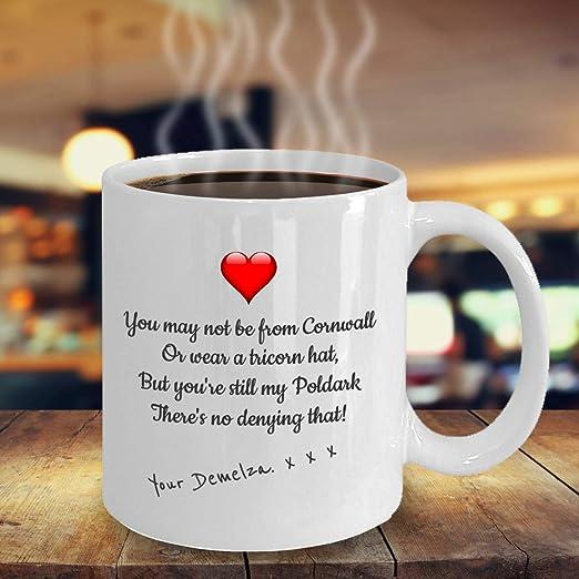 Ross /& Demelza Official Poldark Mug