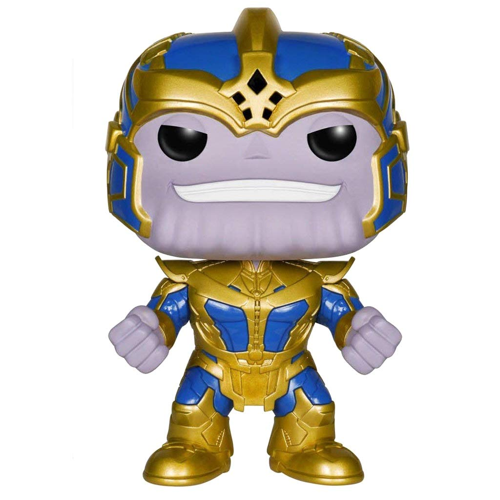 ZLH Spielzeugmodell Modell - FUNKO POP Avengers 3 Silikon Thanos Puppe 14cm Händeschütteln Puppe Modell Dekoration Geschenk des Kindes (Farbe   A) B07QF5SSH6 Babypuppen Genialität | Qualität und Verbraucher an erster Stelle