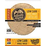 """7"""" La Tortilla Factory Whole Wheat Low Carb Tortillas (Regular Size) Pack of 5"""