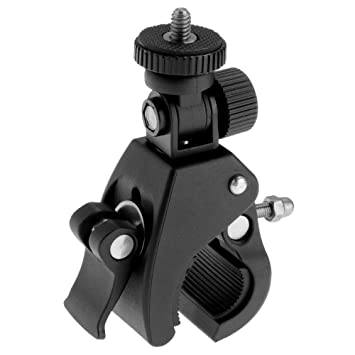 Support Pince Clamp Fixation Guidon Vélo Moto pour Caméra Gopro Hero ... b1b99ea2a4f2