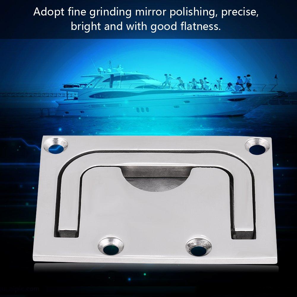Maniglia di tirata marina maniglia di sollevamento dellarmadietto della cabina di flusso della barca dellarmadietto dellacciaio inossidabile per lyacht marino