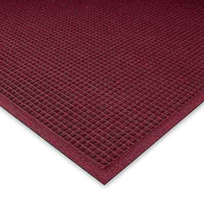 "The Andersen Company Andersen WaterHog Fashion Polypropylene Fiber Entrance Indoor/Outdoor Floor Mat, SBR Rubber Backing, 3/8"" Thick"