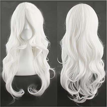 Cosplay Wig Blanche 23\'/58CM Perruque Femme