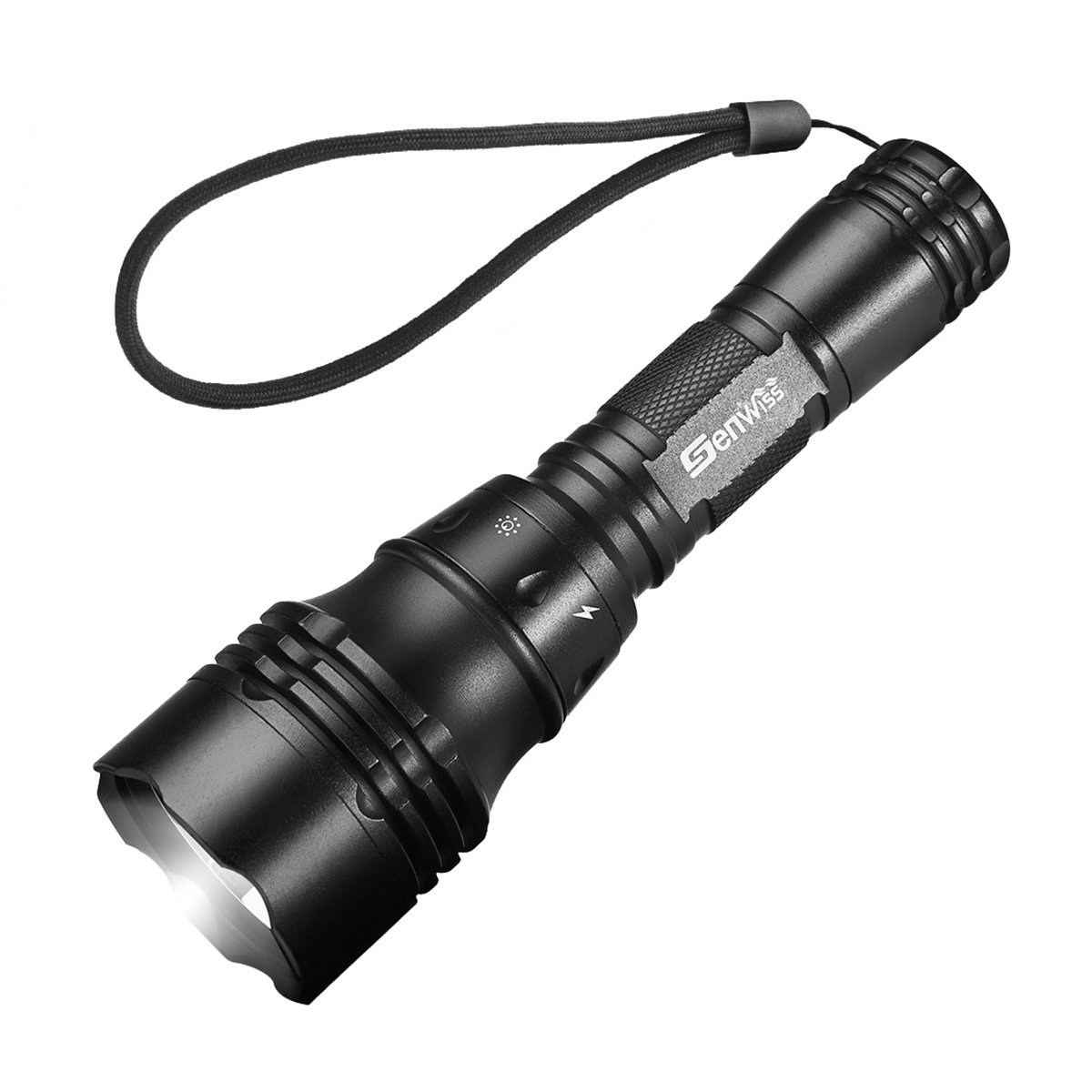 3000 Lumens Super Bright XML- L2 LED Underwater Diving Flashlight Torch Light Lamp Waterproof Super T6 3000torch-01