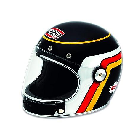 Ducati Scrambler 98103330 Integral Retro Vintage Casco Moto Casco Bell Black Track Classic