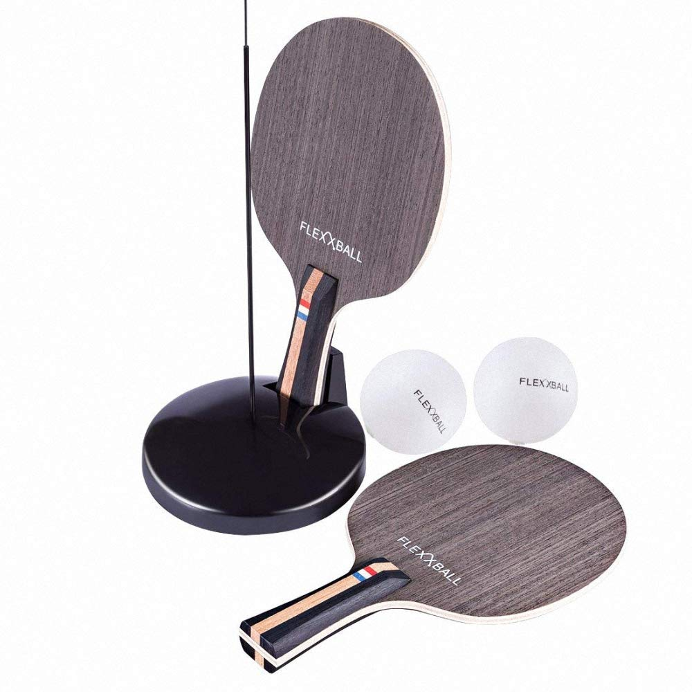 Amazon.com : Rebound Ball Set Ping Pong Paddle Set Tennis Training Kit Tennis Rebound Player with Trainer Baseboard Racket Training Ball : Sports & Outdoors