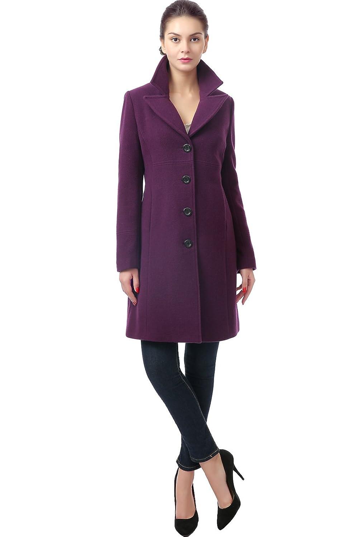 BGSD Women's 'Joan' Missy & Plus Size Wool Blend Over Coat