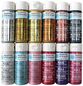 Martha Stewart Multi Surface Craft Paint On Fabric
