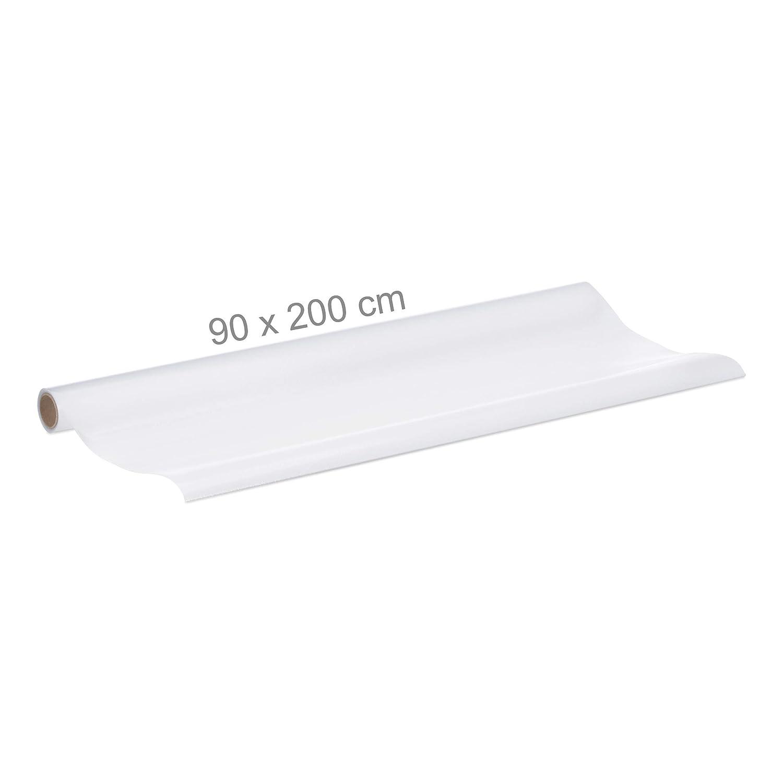 Laiteux Relaxdays Film Plastique Verre Opale 90 x 200 cm Adh/érent Statique Opaque Protecteur Vitre Cache Fen/être PVC