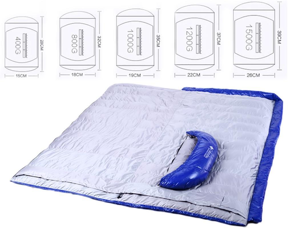 Outdoor Ente unten Schlafsack Schlafsack Schlafsack Camping Ausrüstung Umschlag 600-2000g B076SP64YY Mumienschlafscke Elegant und feierlich 564e38