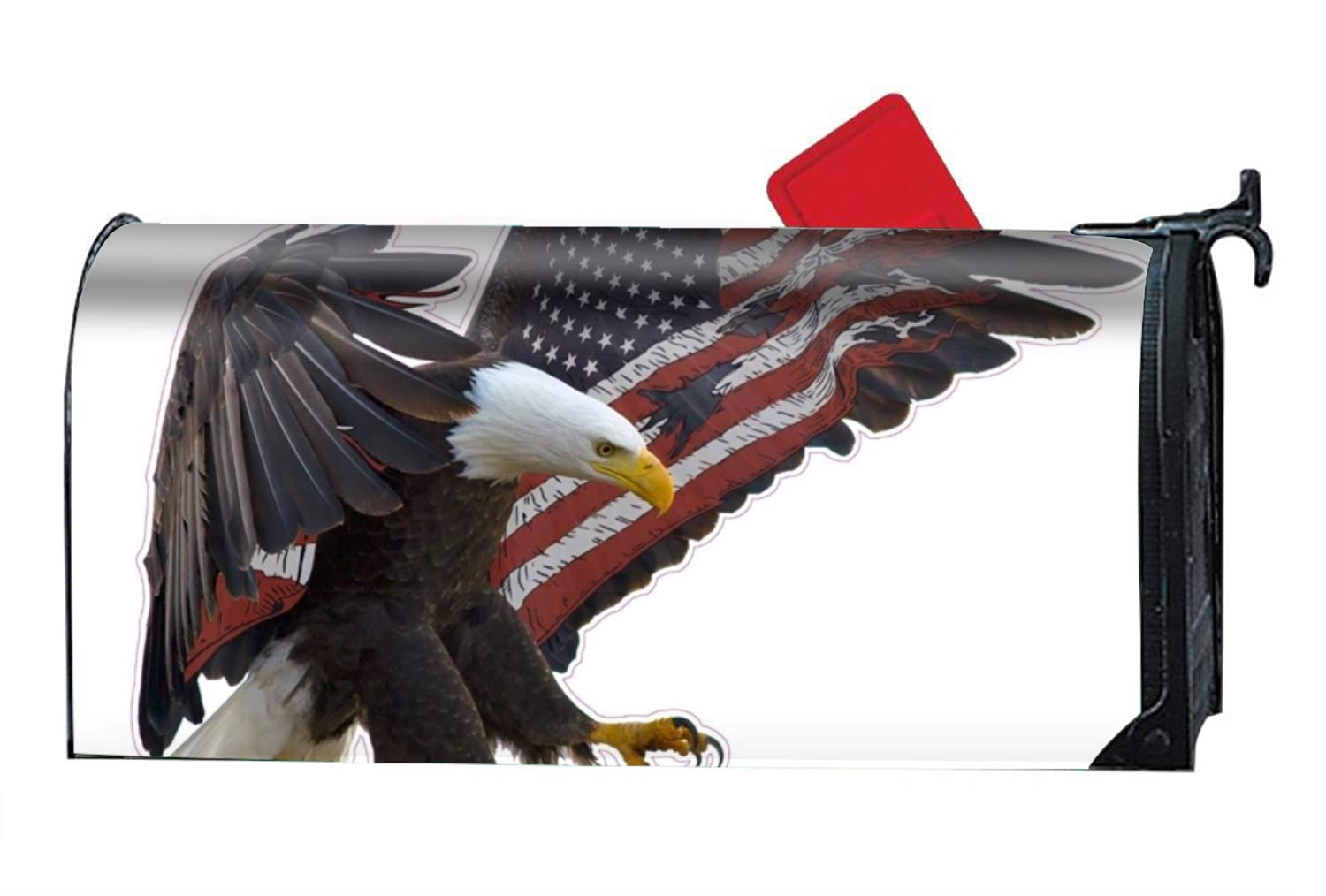 Mailbox Covers American Eagle Front Door Decor - Customized Magnetic Cover