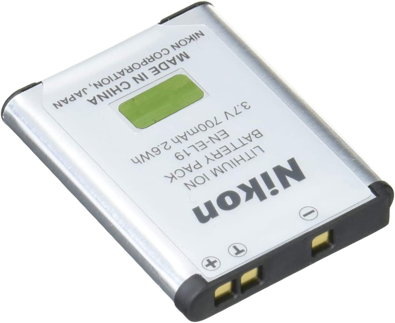 Nikon EN-EL12 Lithium-Ionen-Akku f/ür Nikon Coolpix