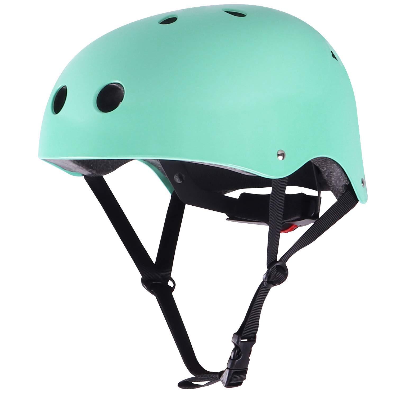 WinMaxマルチスポーツスケートボードスケート&サイクリングセーフティバイク用ヘルメット(子供用)(Robin Egg Blue、S)   B01LWO3ROO