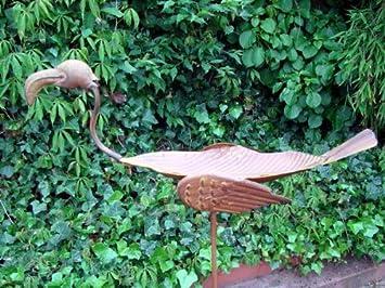 Bebedero para pájaros de metal, cuatro diseños distintos, Rostoptik: Amazon.es: Jardín