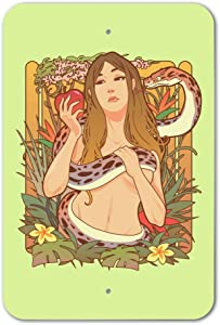 GRAPHICS & MORE Eve with and Snake in Garden of Eden Home Business Office Sign