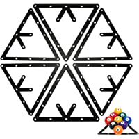 Lepeuxi 6PCS / 1PCS Magic Ball Rack Billar