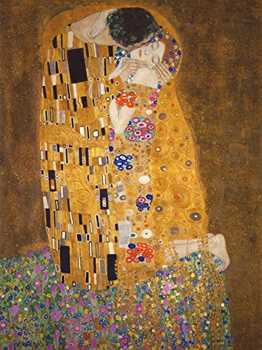 The Kiss , c.1907 Poster by Gustav Klimt 24 x 36in