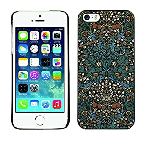 Pulsar Snap-on Series Plastic Back Case Shell Skin Cover for Apple iPhone 5 / iPhone 5S , Culture Oriental Carpet Wallpaper